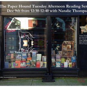 Video: The Paper Hound ReadingSeries